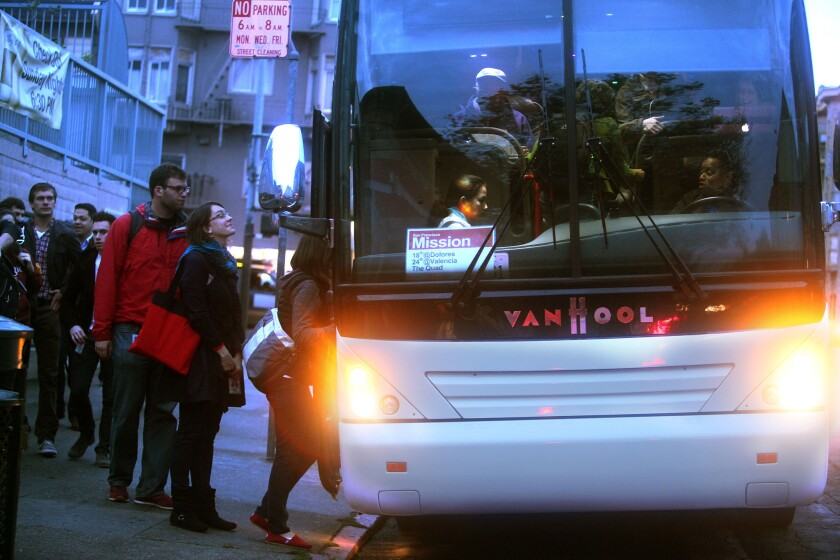 San Francisco's bus wars are a proxy fight against gentrification