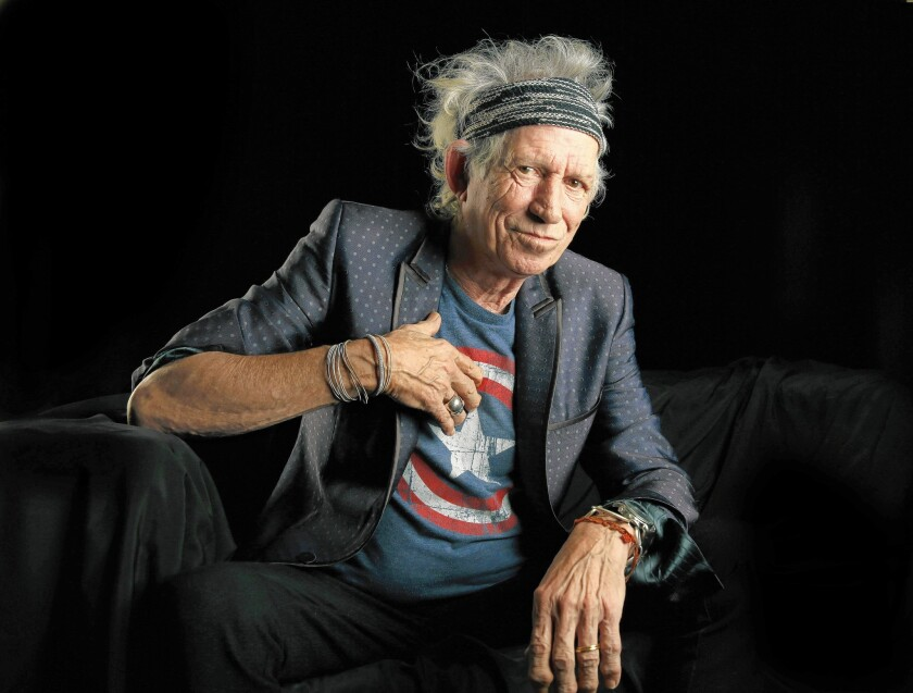 Keith Richards on COVID: 'I'm impervious... like Trump' - Los Angeles Times