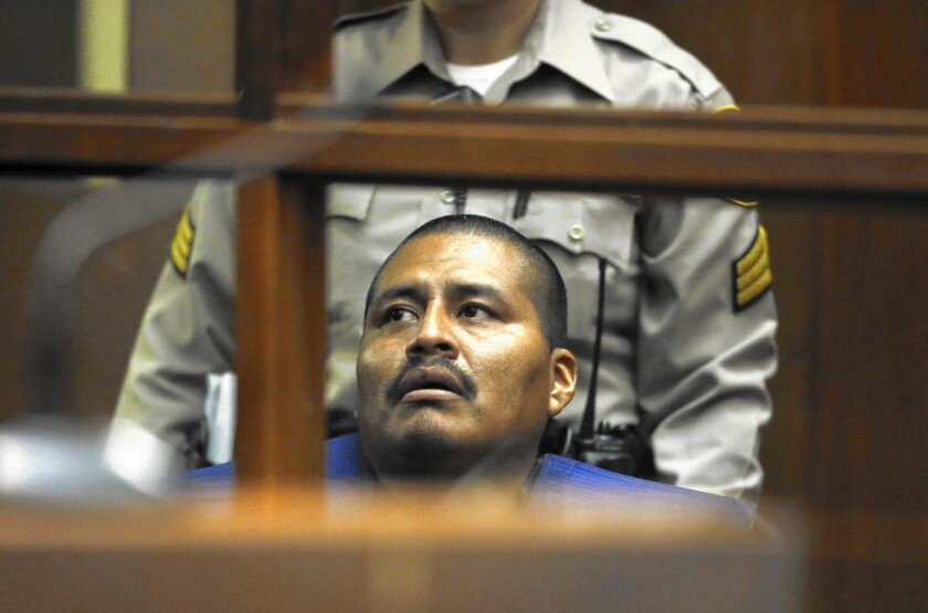 Luiz Fuentes, shown in a September court appearance, is accused of killing his three sons.