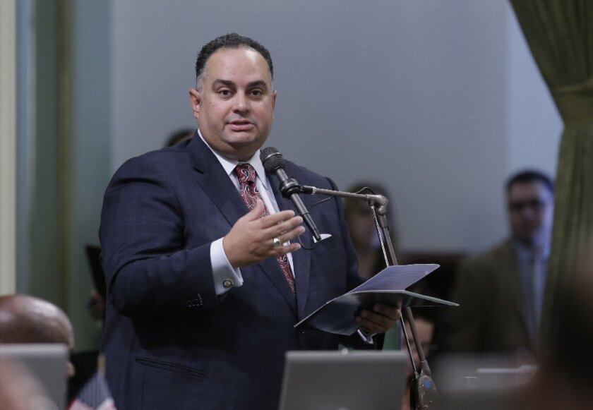 Democrat John A. Pérez of Los Angeles was speaker of the California Assembly from March 2010 to May 12, 2014.