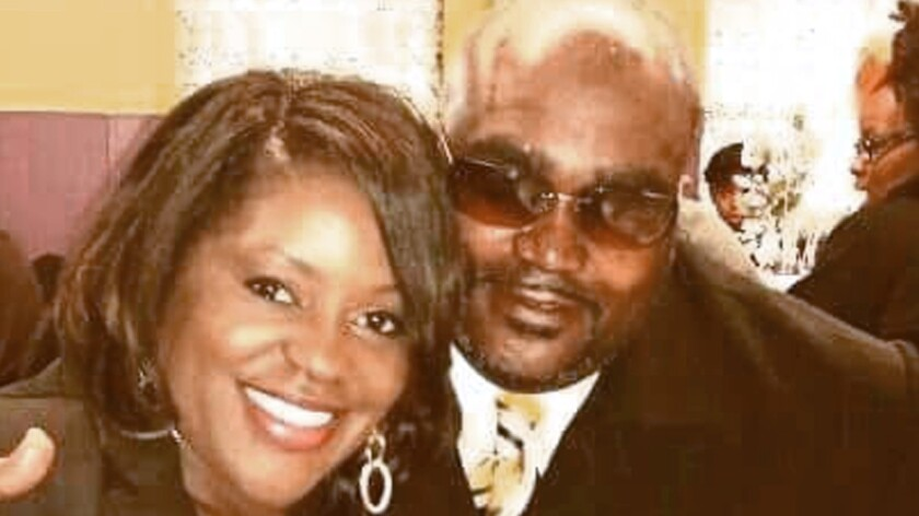 Terence Crutcher with sister Tiffany Crutcher.