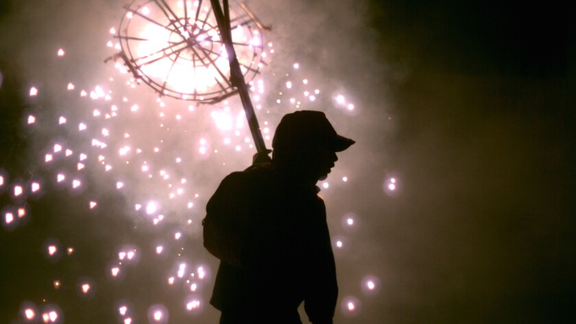 """PBS documentary """"Brimstone & Glory"""" by Viktor Jakovleski chronicles the annual fireworks festival in the small Mexican town of Tultepec, where three-quarters of the residents work in pyrotechnics."""