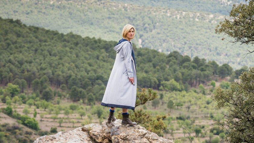 """It's a new look for the Doctor, as the beloved science-fiction series """"Doctor Who"""" puts Jodie Whittaker in the lead."""
