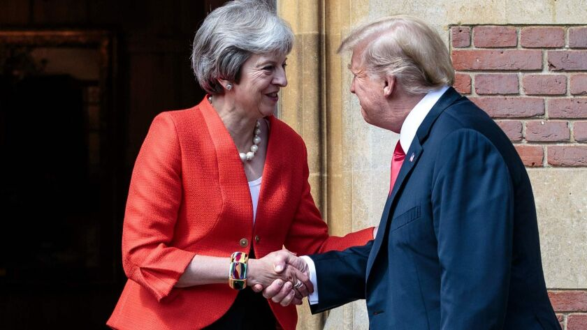 BRITAIN-US-DIPLOMACY-TRUMP