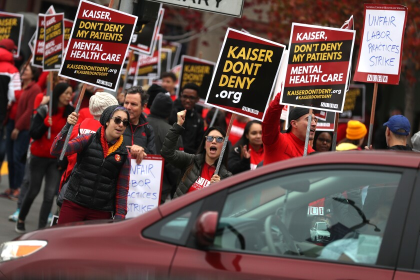 38,000 Kaiser workers in CA vote to approve strike