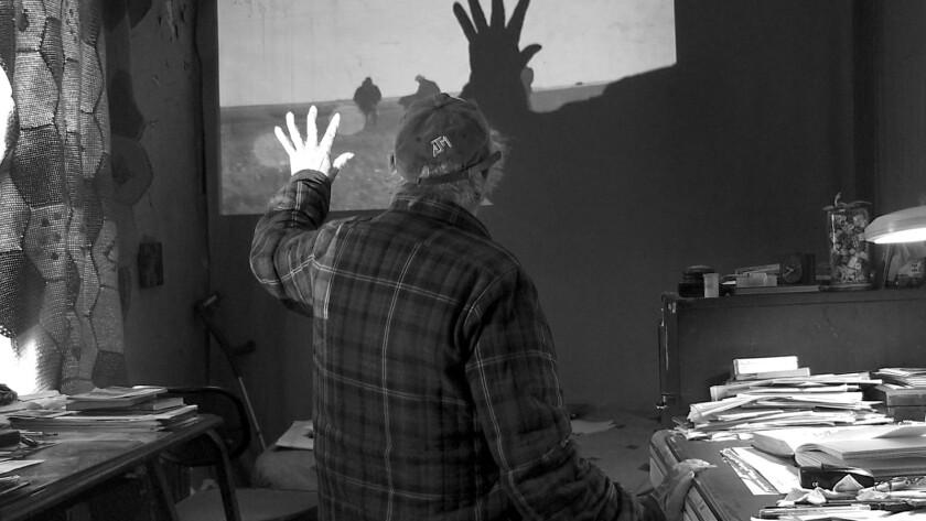 """Robert Frank in the documentary """"Don't Blink – Robert Frank."""""""