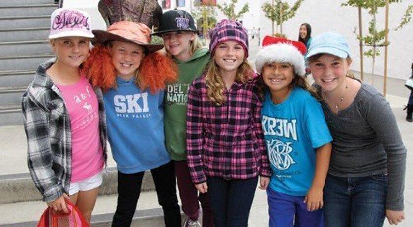 Alexis, Avery, Reilly, Jillian, Ariana, Anna (Photo: Jon Clark)