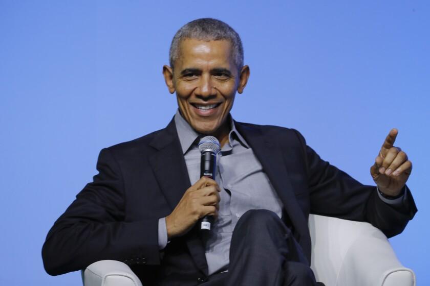 El expresidente Barack Obama