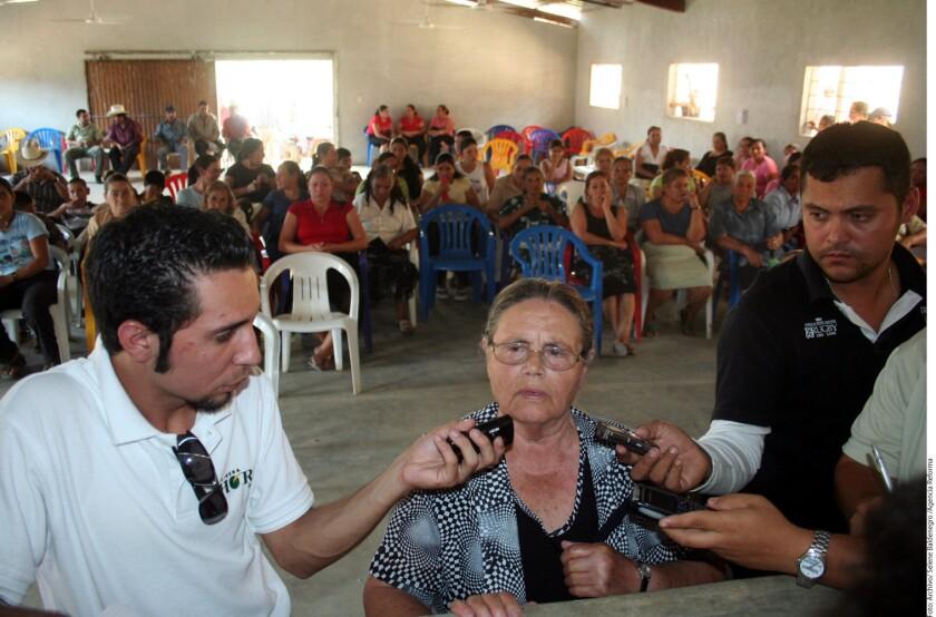 """Consuelo Loera, madre del narcotraficante Joaquín """"El Chapo"""" Guzmán, abandonó su vivienda en la comunidad de La Tuna, en la Sierra de Badiraguato ante la incursión de grupos armados en la zona."""