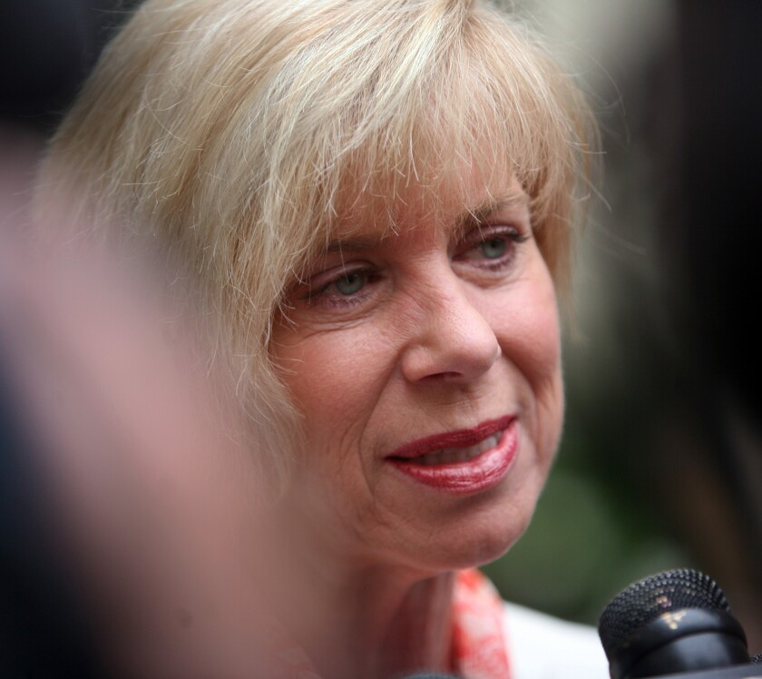 Rep. Janice Hahn in 2011.