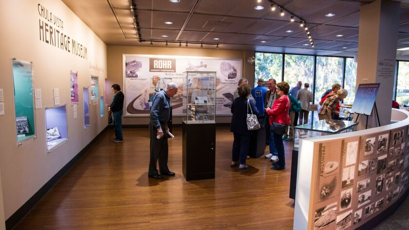 The newest exhibit in the Chula Vista Heritage Museum, a collection of photos, stories, and artifacts pertaining to the Rohr Aircraft Company and the impact they had on Chula Vista.