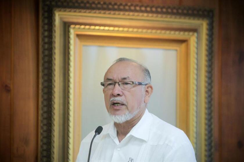 En la imagen, el ministro de Agricultura de El Salvador, Orestes Ortez. EFE/Archivo