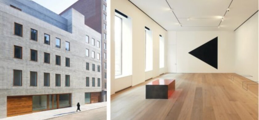For the five-story David Zwirner gallery in New York City's Chelsea neighborhood, Selldorf Architects designed a 30,000-square-foot building that is the first LEED certified commercial art gallery in the country.  Photos by Jason Schmidt