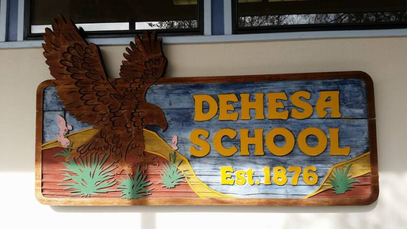 Dehesa is one of three East County school districts putting bond measures on the November ballot. All have SDCTA's OK.