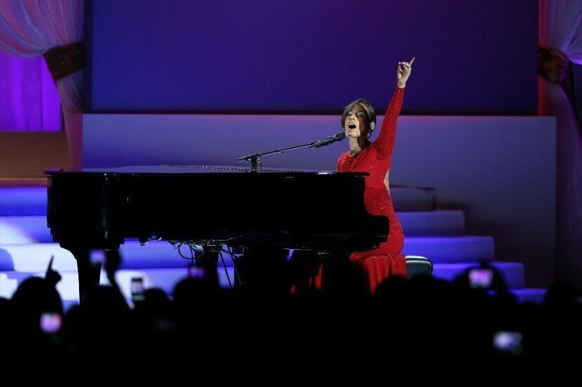 On Alicia Keys' mediocre, confusing presidential serenade