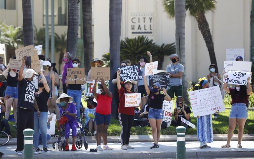 Escondido protest