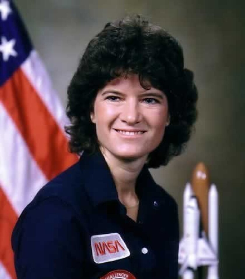 Sally Ride was born in Los Angeles May 26, 1951. Died on July 23, 2012 in La Jolla at age 61, after a 17-month battle with pancreatic cancer. She is survived by her mother, Joyce, of Pasadena.