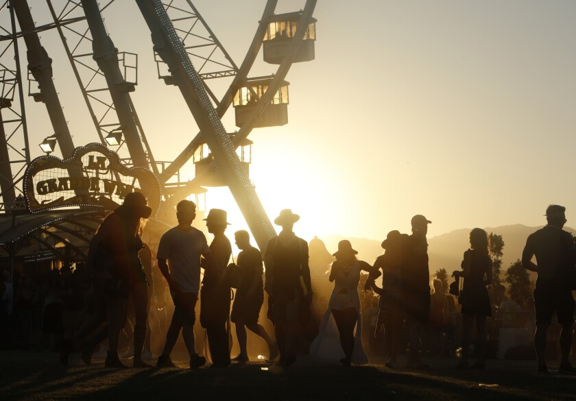 Coachella, run by AEG's Goldenvoice, has become an attractive destination for marketers looking for a large, young and hip audience.