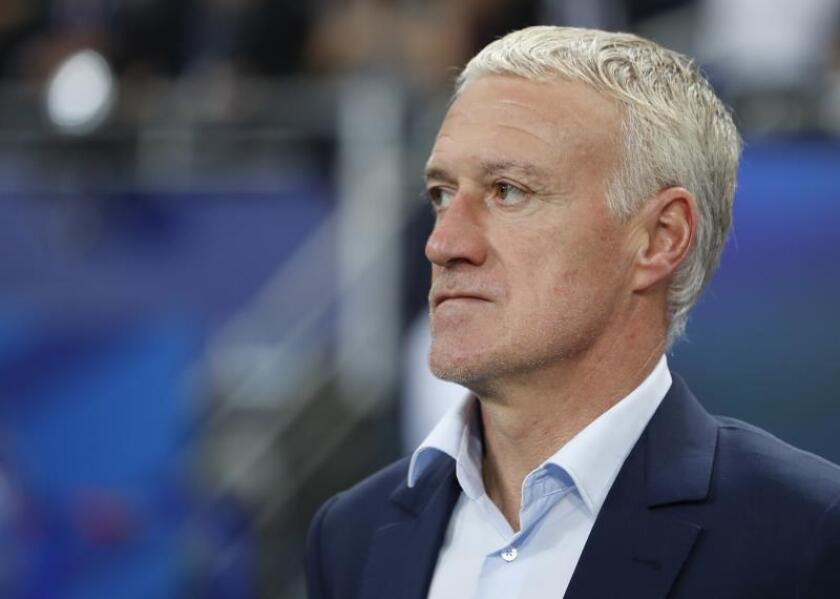 El entrenador de Francia, Didier Deschamps. EFE/Archivo