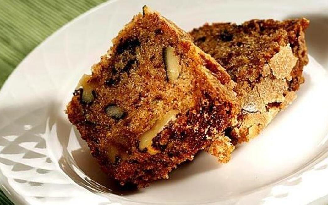 Delicious zucchini tea cake
