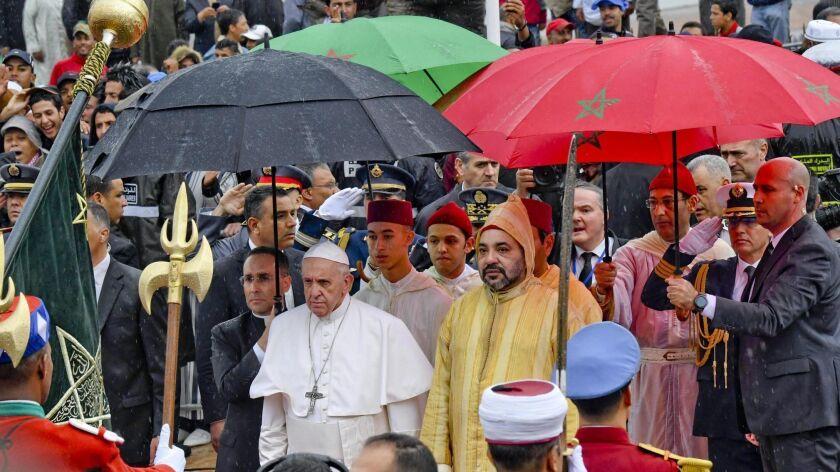 Pope Francis in Morocco, Rabat - 30 Mar 2019