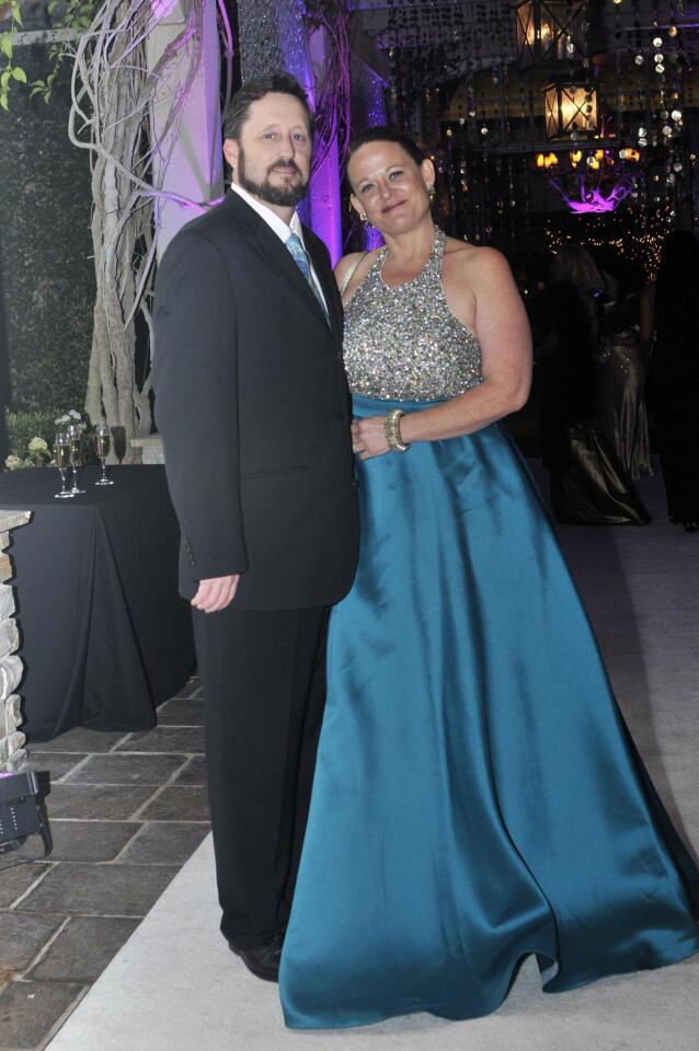 Trent Myers and Casa de Amparo Executive Director Tamara Fleck-Myers