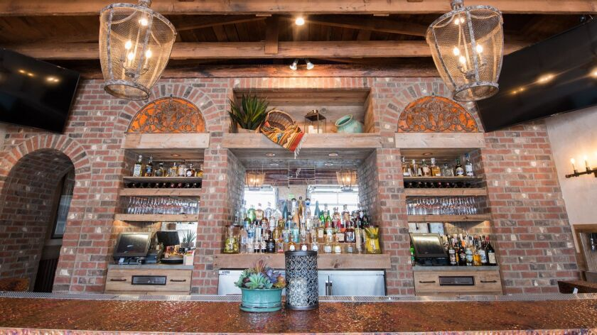 Jalisco Cantina in Oceanside serves more than 75 varieties of tequila and mezcal. It's one of several newer restaurants and bars that specialize in tequila and mezcal bar programs.