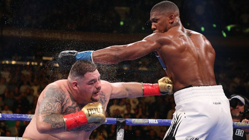 Andy Ruiz Jr  TKOs Anthony Joshua, becomes first heavyweight champ