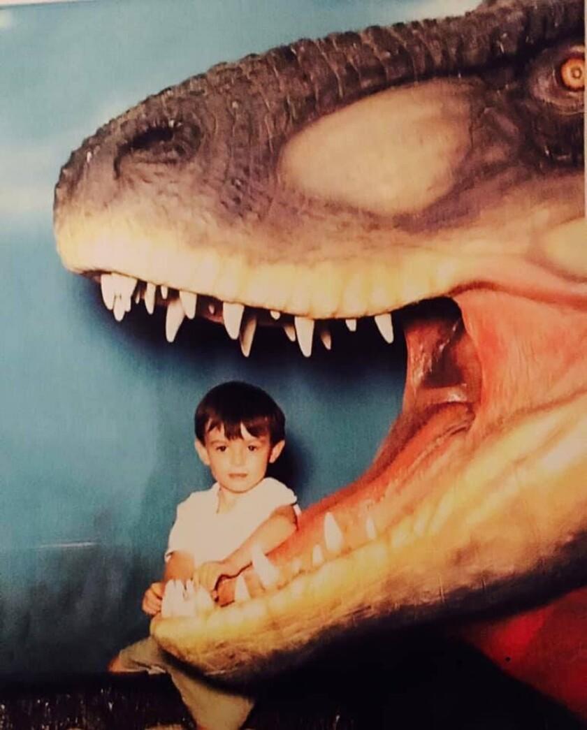 Harrison Duran as a child