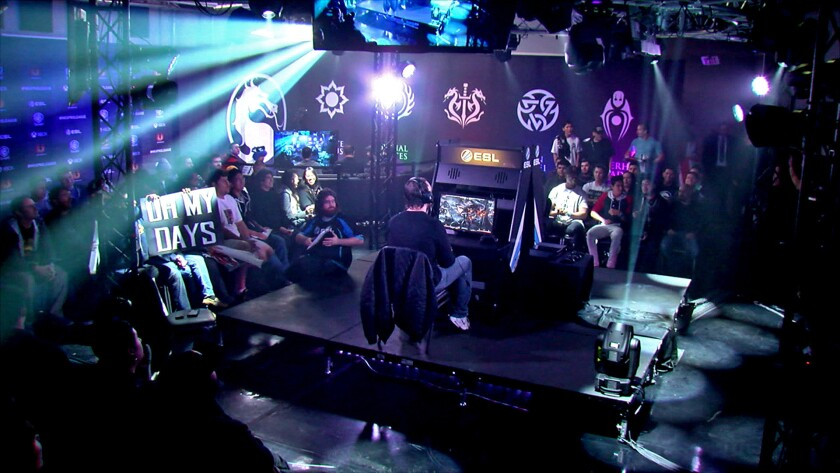 "A Machinima show based on a tournament featuring top players of the video game ""Mortal Kombat X"" aired on the CW."