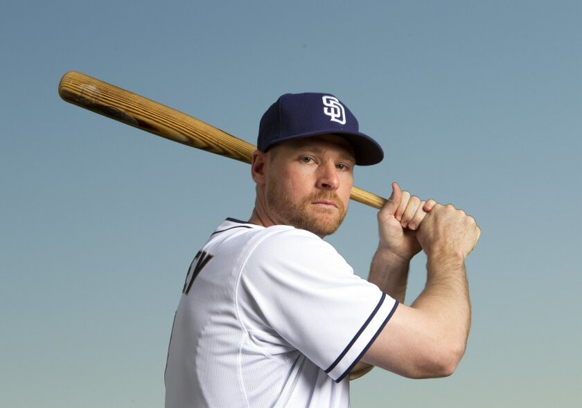 Chase Headley with the 2013 San Diego Padres.