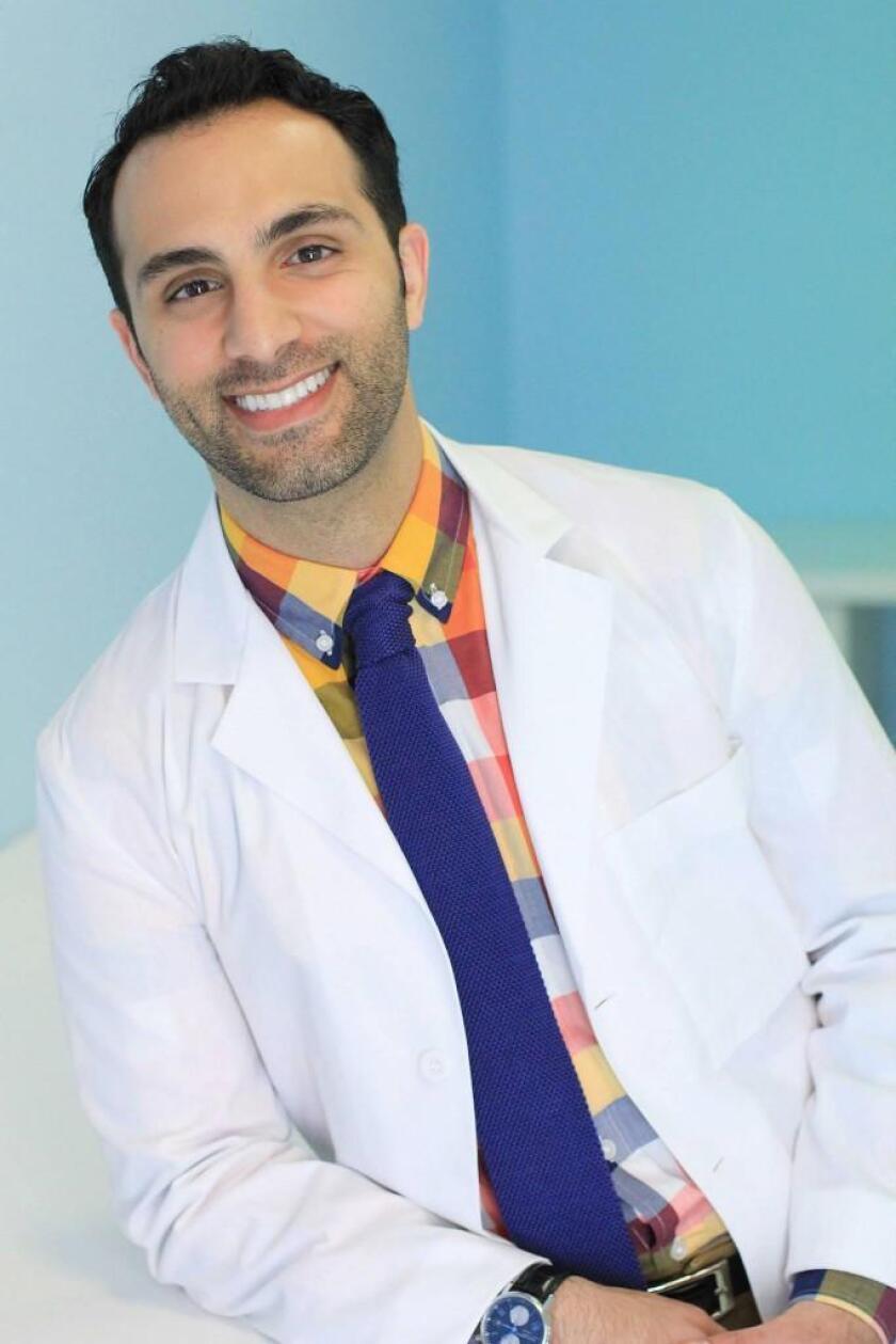Dr. Kiyan Mehdizadeh, DMD, of Floss Dental, 4520 Executive Drive, Suite 340, in La Jolla. (858) 597-9844. www.floss.dental