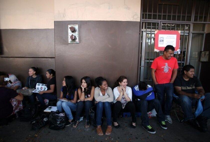 Deferred deportation program