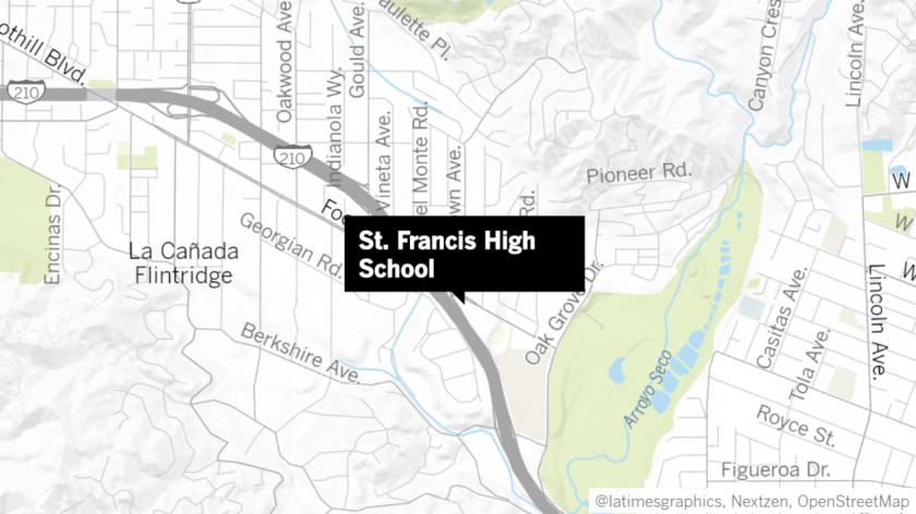 St. Francis High School in La Cañada Flintridge