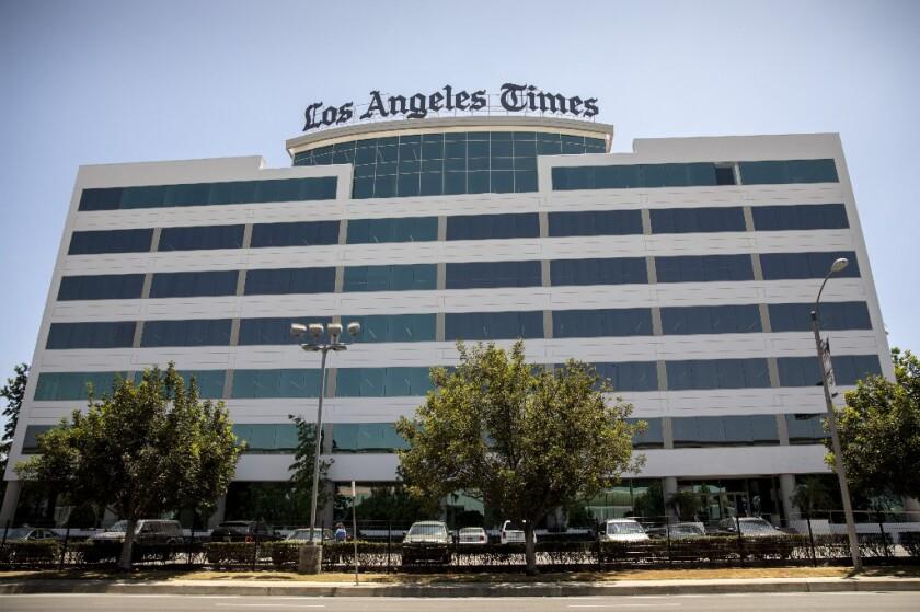 Los Angeles Times headquarters in El Segundo.