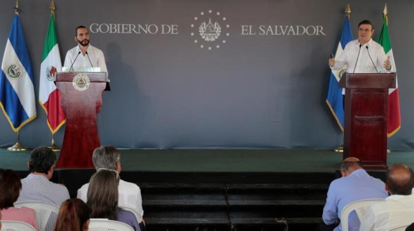 El Salvador y México inauguran un proyecto para frenar la migración de salvadoreños