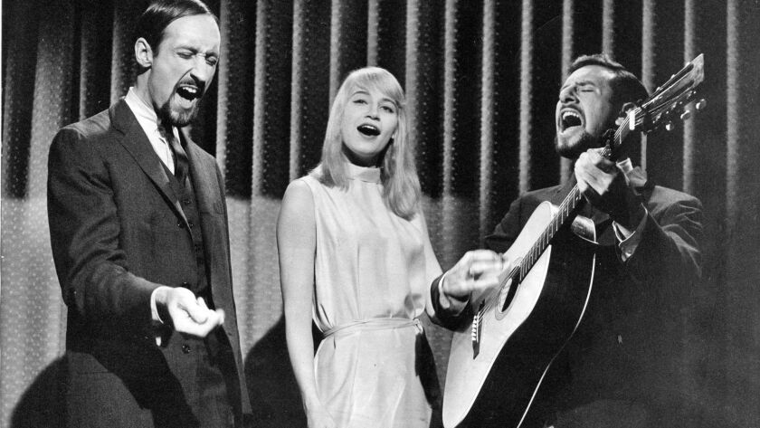 Peter, Paul and Mary in 1962.