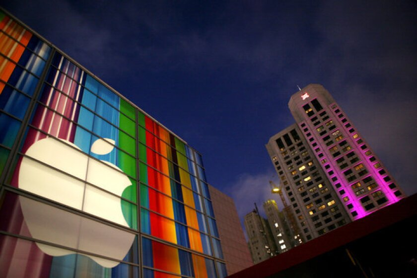 For the first time, Apple cracked the Fortune 500 list's top 10.