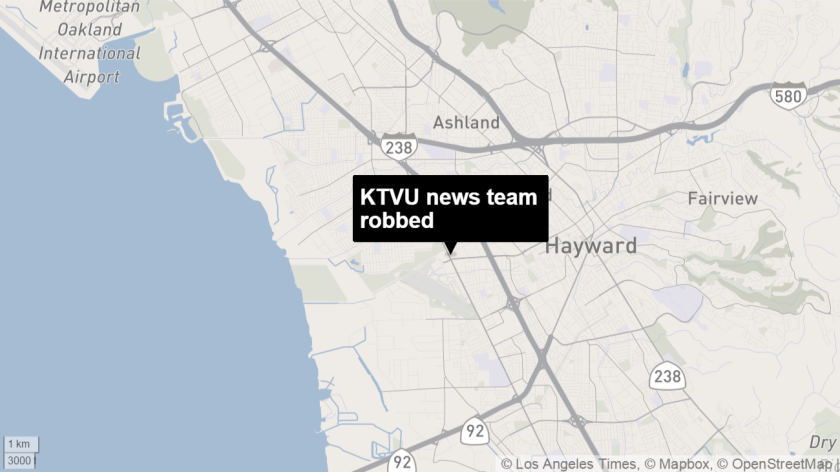 News crew robbed