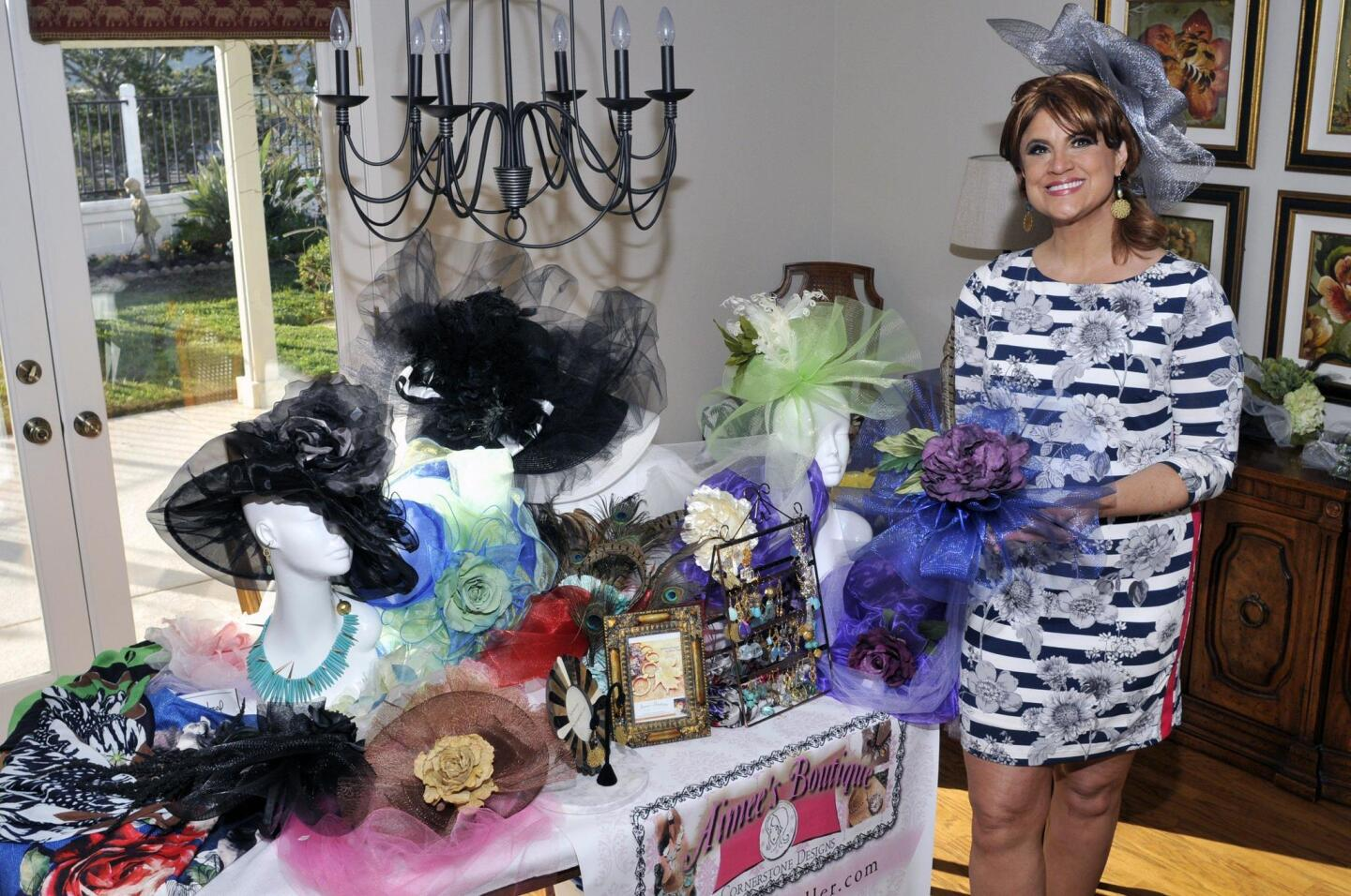 Aimee Meals and her stunning creations (www.aimeesboutique.net)
