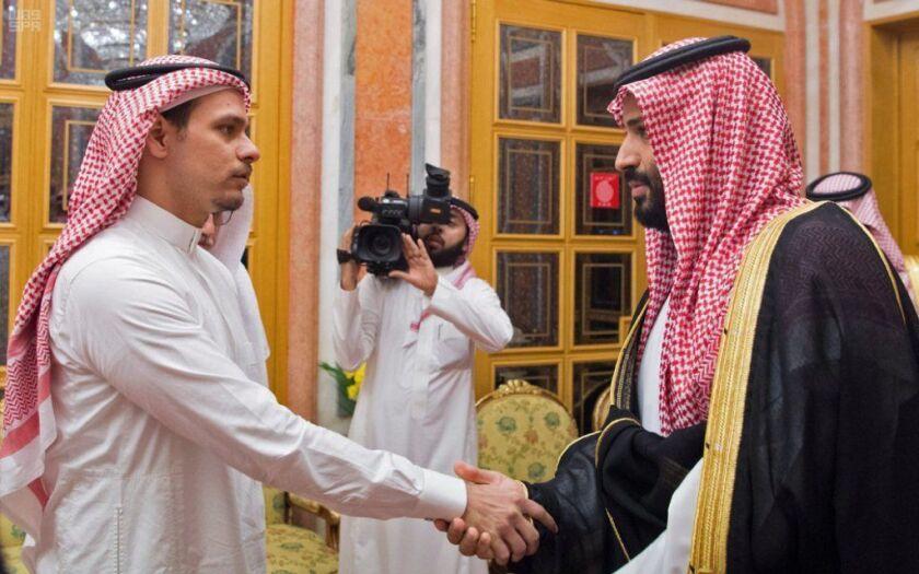 Saudi Crown Prince Mohammed bin Salman met with family members of slain journalist Jamal Khashoggi in Riyadh at the royal palace state-run news agency SPA reported.