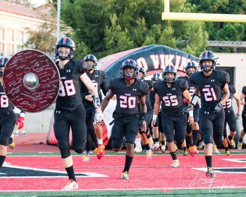 2019 La Jolla High School Vikings varsity football team.