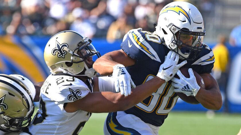 Running back Austin Ekeler appears poised to have a larger role in the Chargers' offense this season.