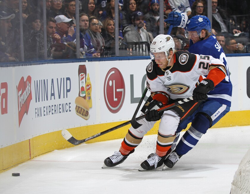 Anaheim Ducks v Toronto Maple Leafs