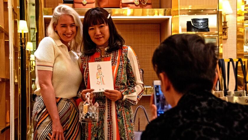 China luxury retail