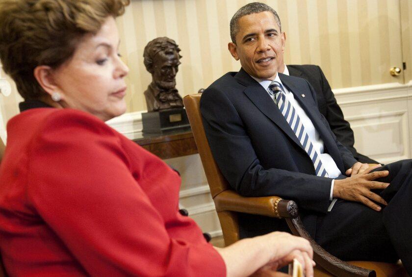 Brazil postpones state visit to U.S. over Snowden spying leaks