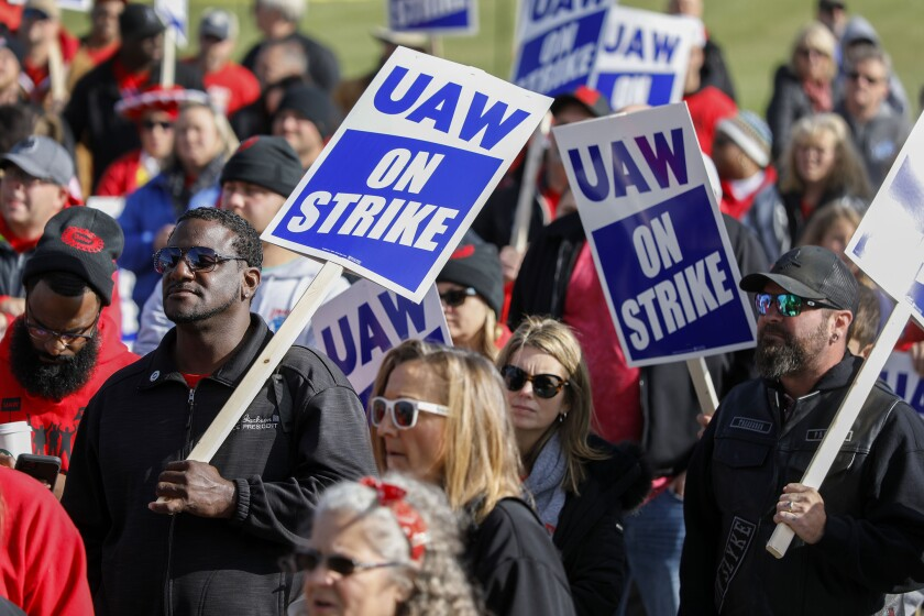 United Auto Workers strike