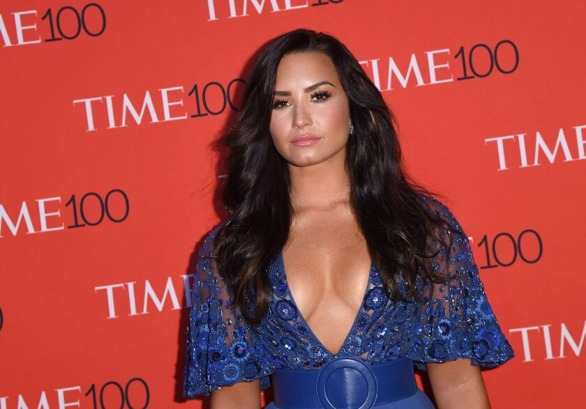 Demi Lovato will sing the national anthem at the Super Bowl. Is that really a good idea?