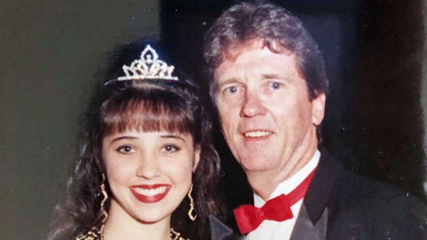 Jim Carnett and daughter Jade at 1993 Estancia Homecoming. (Courtesy of Jim Carnett)