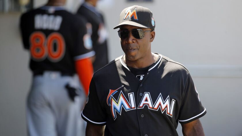 Barry Bonds saw the potential in Christian Yelich when he was the Marlins' batting coach in 2016.